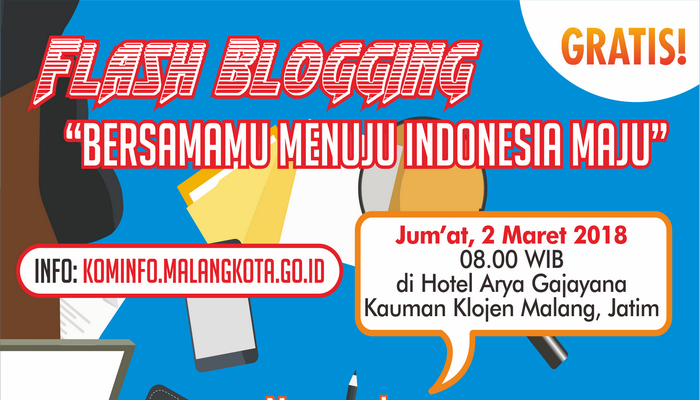 "Flash Blogging dan Temu KIM ""Menuju Indonesia Maju"""